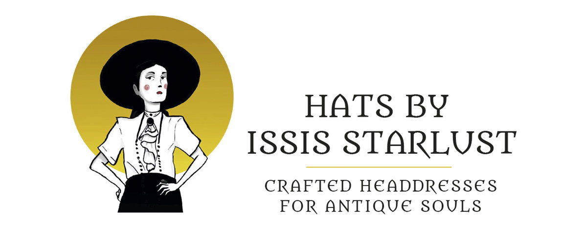 Hats by Issis Starlust - Crafted headdresses for antique souls Lolita fashion Gothic shop vintage hat indie brand
